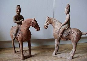 tang dynasrty horse with rider