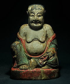 Such a happy buddha from ming dynasty