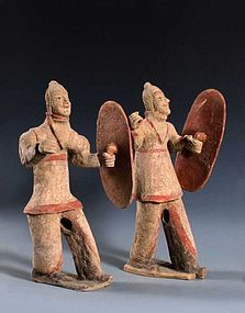Wonderful north wei dynasty soldier