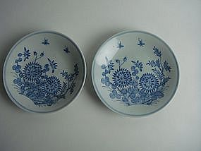 Mid-Qing dynasty blue and white