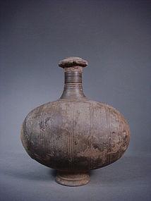 Han dynasty special cocoon jar