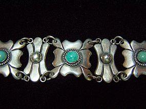 Rafael Dominguez Vintage Mexican Silver Bracelet