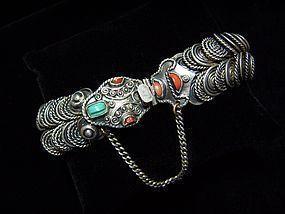 Matl Matilde Poulat Mexican Silver Old Snake Bracelet