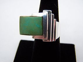 Antonio Pineda Vintage Mexican Silver Ring