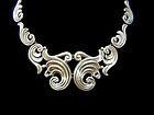 Gerardo Lopez Vintage Mexican Silver Necklace