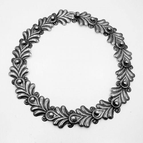 Los Castillo # 472 Vintage Mexican Silver Large Link