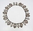 Martinez Vintage Mexican Silver Necklace