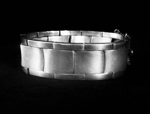 Antonio Pineda Vintage Mexican Silver Bracelet