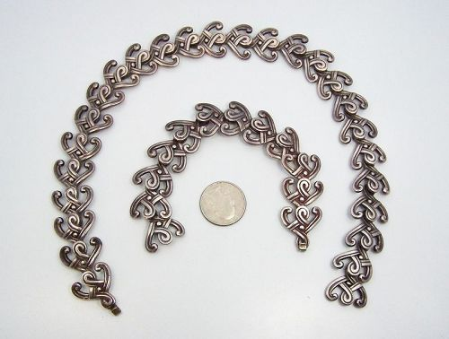 Margot De Taxco Necklace and Bracelet Design  5258