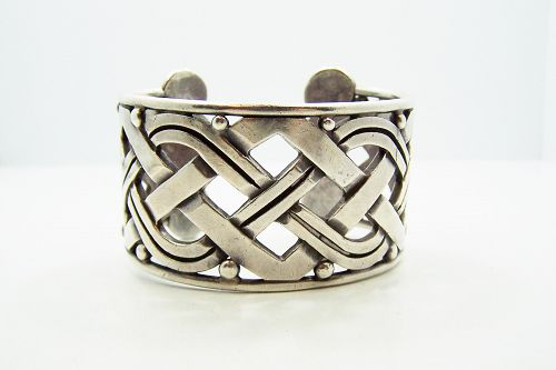 Hector Aguilar X Vintage Mexican Silver Bracelet