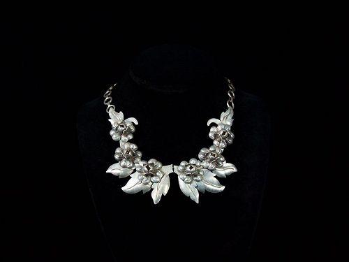 Victoria Ana Maria Nunez de Brilanti Vintage Mexican Necklace