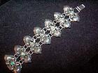 Vintage Mexican Silver Big Turquoise Bracelet