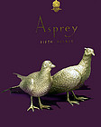 Asprey & Co heavy Silver Table Pheasants, London 1989