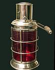 Asprey & Co Silver Plate Lantern Cocktail Shaker