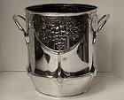 Art Nouveau Jugendstil Orivit silver plate Wine Cooler