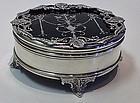 Fine Silver faux Tortoiseshell Box, London 1910,