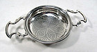 George 111 Silver Strainer, London 1774, William Plumme