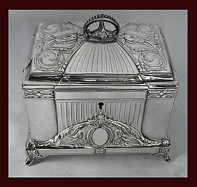 WMF Jugendstil Secessionist Silver plate Jewellery Box