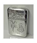 Russian Silver cigarette case, 1896-1908, D.P. Nikitin.