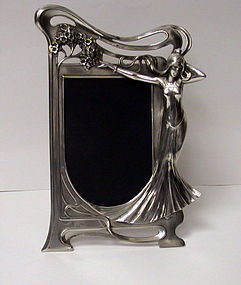 Rare Art Nouveau Frame, WMF Germany C.1905. No 18A