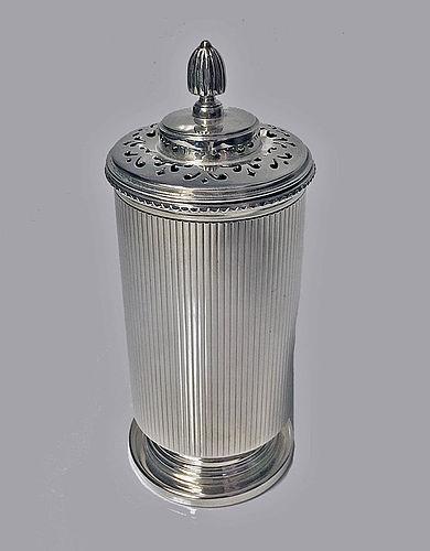 English Silver Sugar Caster Birmingham 1913 W.Neale