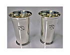 Pair Tiffany New York Athletic Club Sterling Mint Julip Cups, C.1937