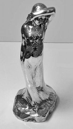 Harold Sorensen Ringi Sarah Bernhardt Sculpture, C.1899