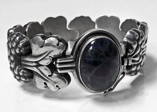 Rare Georg Jensen Sterling Silver �PARIS� Bracelet No 30, Denmark C.19