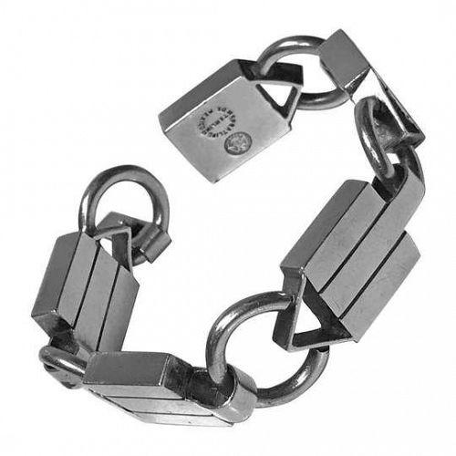 William Spratling 1949-1951 Sterling Silver Bracelet Rare Design