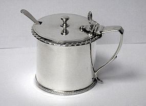 Bateman Antique Silver Mustard Pot