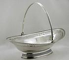 Antique Georgian Silver  Basket, London 1787 Wm Plummer