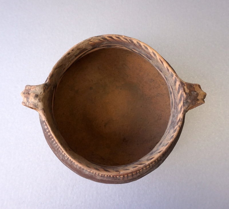 Machang Culture Pottery Bowl, 2300-2000BCE