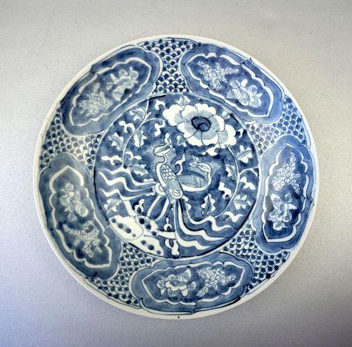 Ming Dynasty Swatow (ZhangZhou Yao)Blue and White Underglaze Porcelain