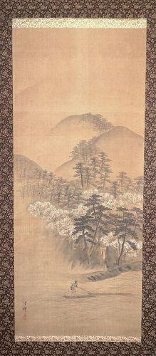 Spring on the River by Yokoyama Seiki (1793-1865)