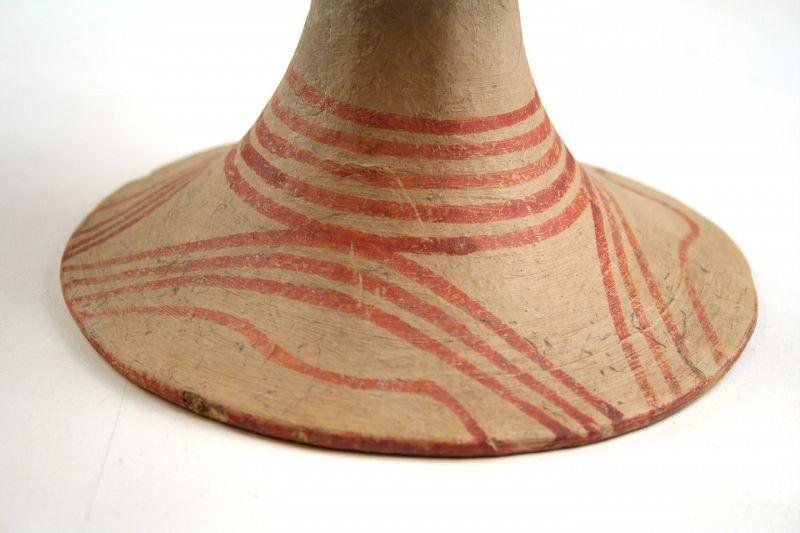 Superb Ban Chiang Pottery Pedestal Cup, Late First Millennium BCE