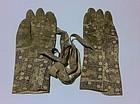 Rare Pair of Samurai Leather Gloves, Edo, 19 th century