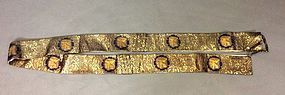 Buddhist robe sashes.