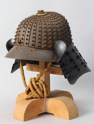 Samurai Tetsusabiji 32ken hoshi Kabuto helmet ,Edo period