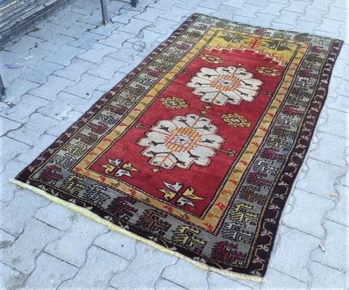 Turkish Konya Sarayonu Ladik Carpet