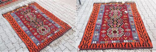 Turkish Sivas Cicim Carpet