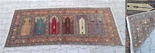 Turkish Anatolian Kayseri carpet