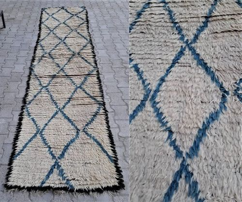 Contemporary Turkish Wool Runner