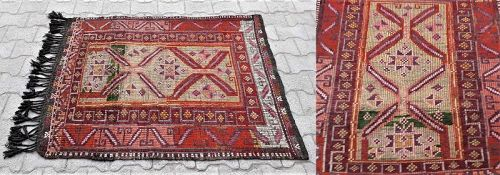 Turkish Toros Yoruk Cicimi Kirman Carpet