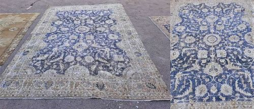 Turkish Isparta Virgo and Tulip motif carpet