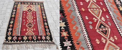 Turkish Ankara Elmadag Kilim