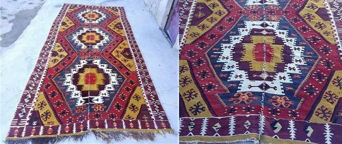 Turkish Anatolian Aksaray kilim