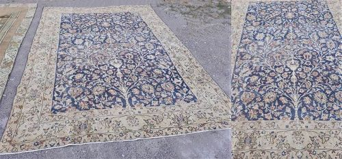 Turkish Isparta Blanched cotton and wool carpet