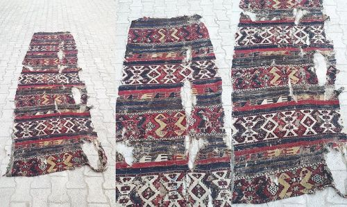 Turkish Antique Adiyaman Kilim