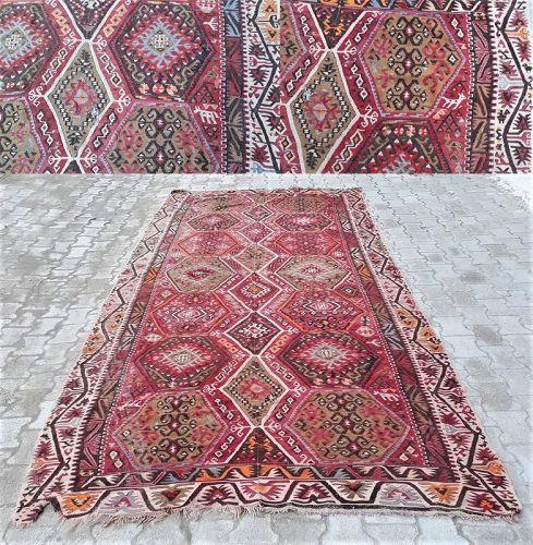 Turkish Anatolian Kayseri Avsar carpet