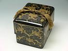 Japanese Makie Tebako (Accessory Box) Edo Period